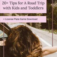 A Road Trip with Kids and Toddlers: 20 + Tips to Survive and Thrive