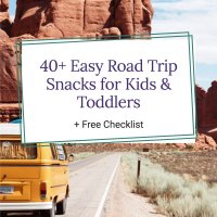 Road Trip Snacks for Kids and Toddlers