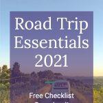 Road Trip Essentials 2021