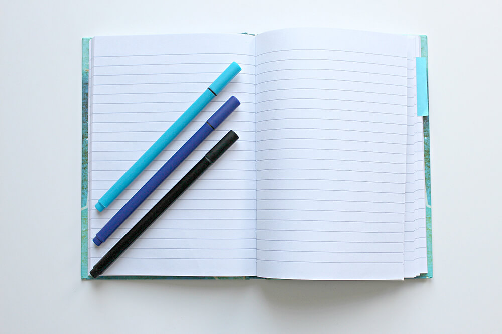 journal for road trip with kids