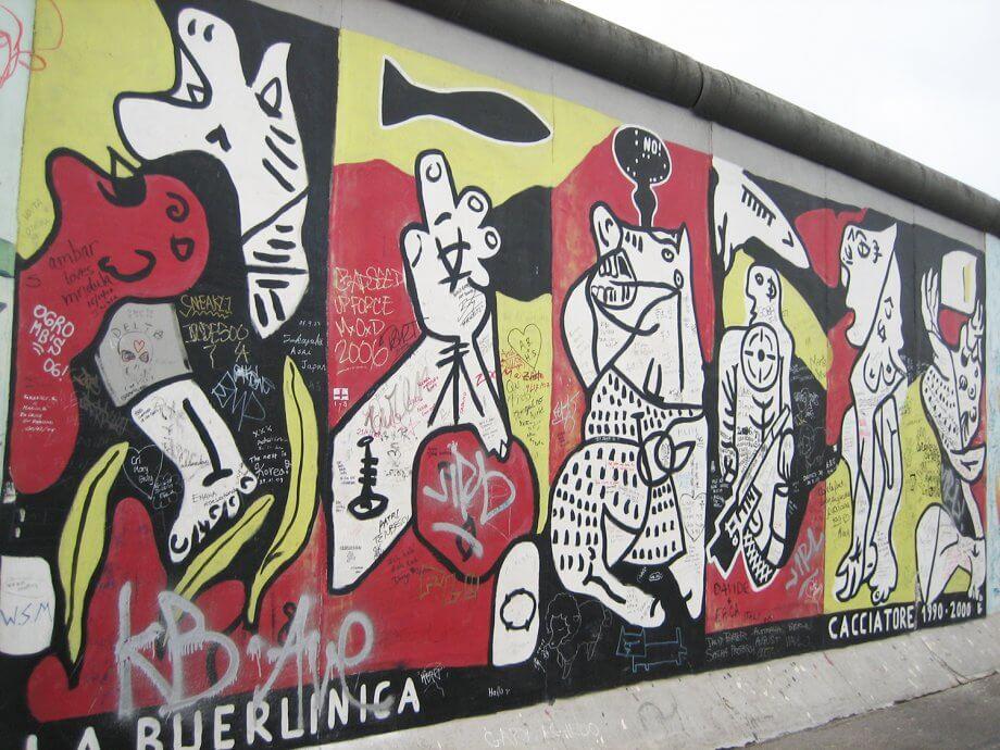 family travel bucket list Berlin wall