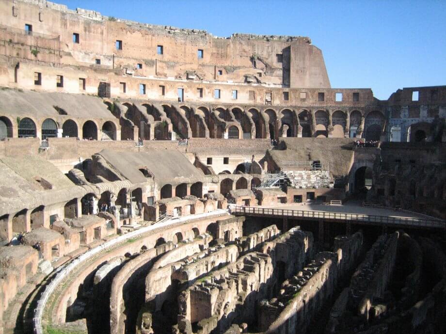 family travel bucket list colosseum rome