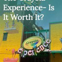 Crayola Experience in Easton PA with kids