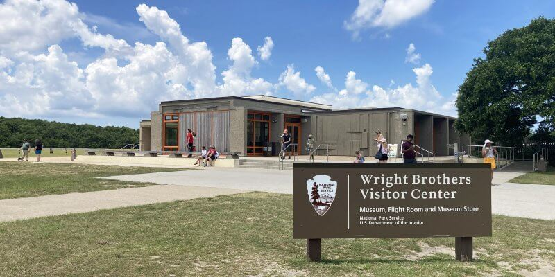 Wright Brothers Visitors Center with Kids
