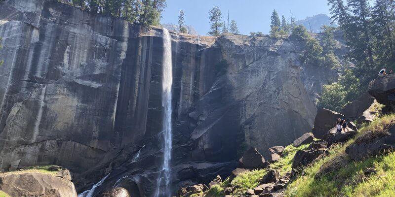 Vernal Falls at Yosemite with Kids