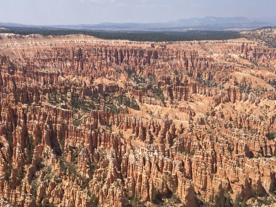 Views from Bryce Point at Bryce Canyon National Park