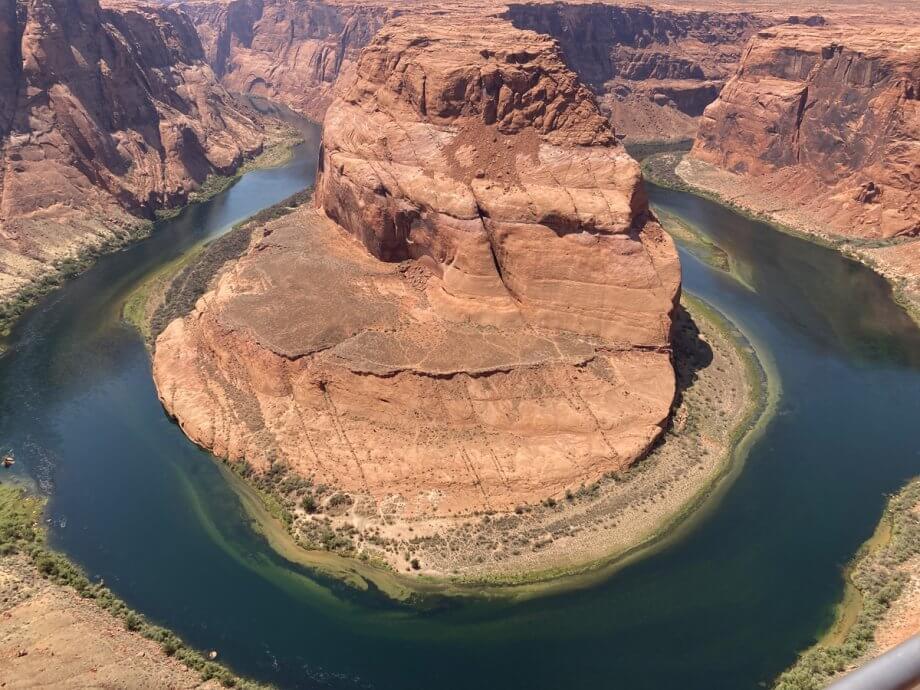 Pretty shot of Horseshoe Bend in Page, Arizona