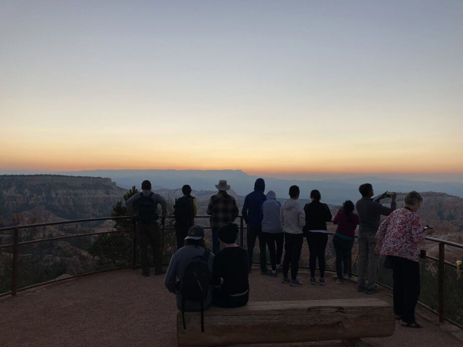sunrise at Bryce Canyon, 2 days with kids